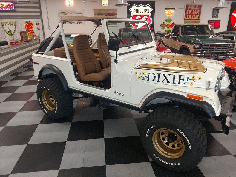 1980 American Jeep CJ7