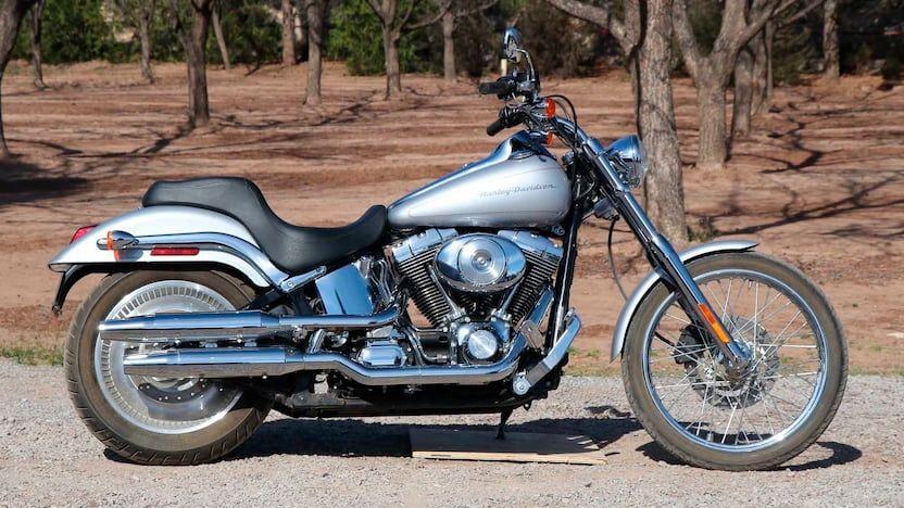 2001 Harley-Davidson Softail Deuce Fxstd