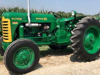 1956 Oliver Super 55 Gas