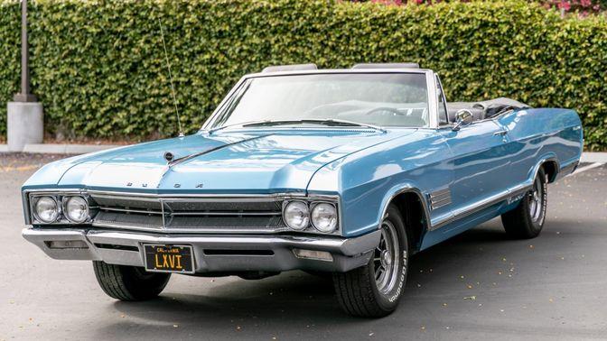1966 Buick Wildcat Convertible