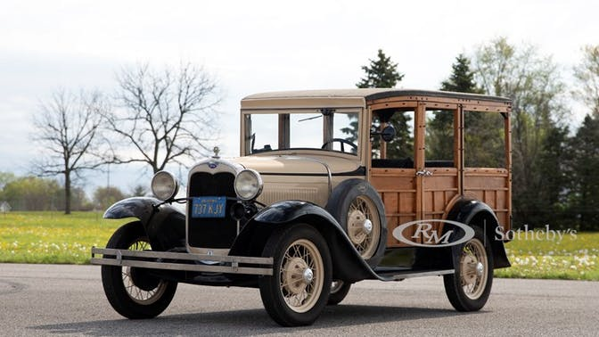 1928 Ford Model A Station Wagon