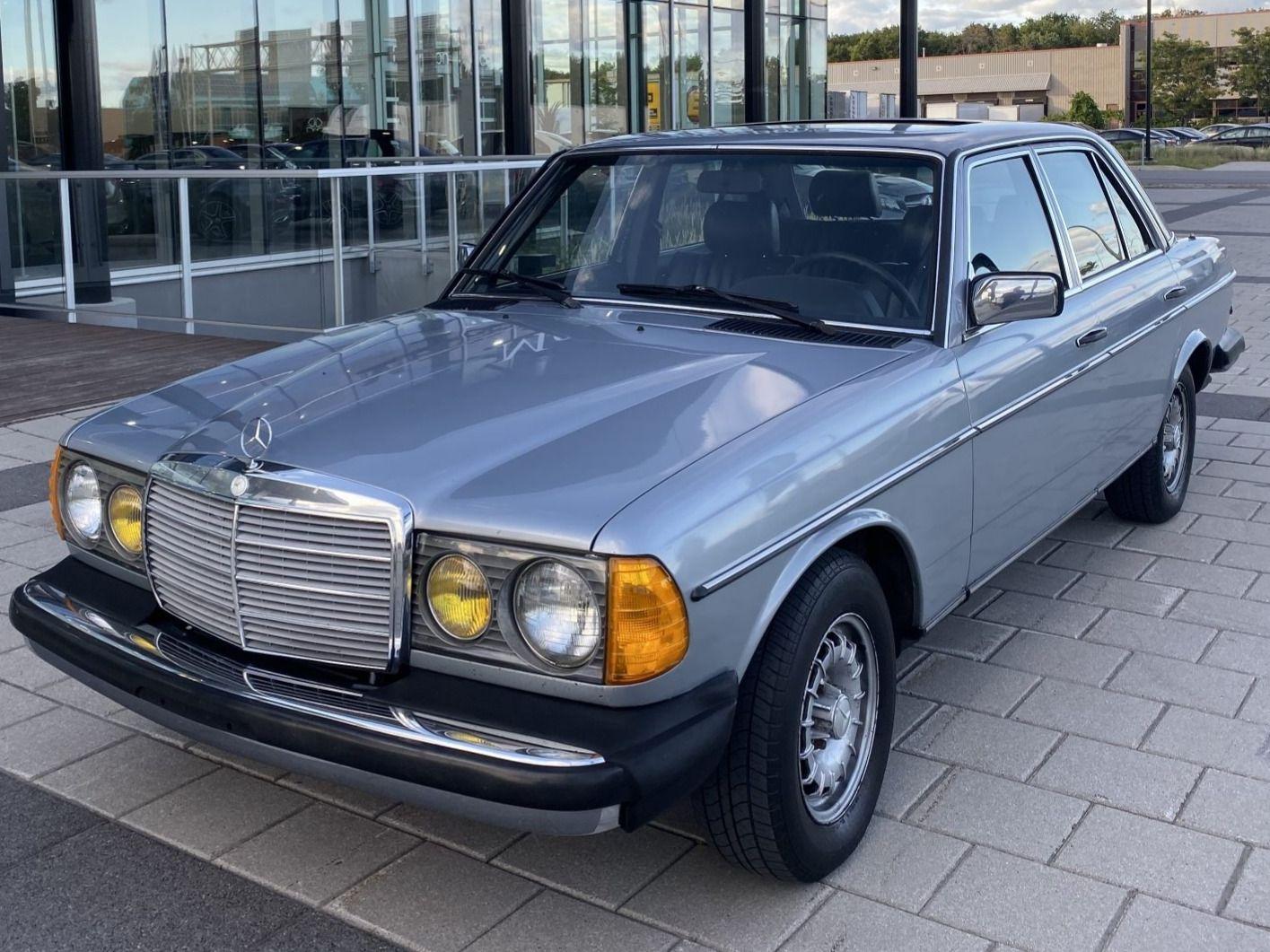 1984 Mercedes-Benz 300D Turbo