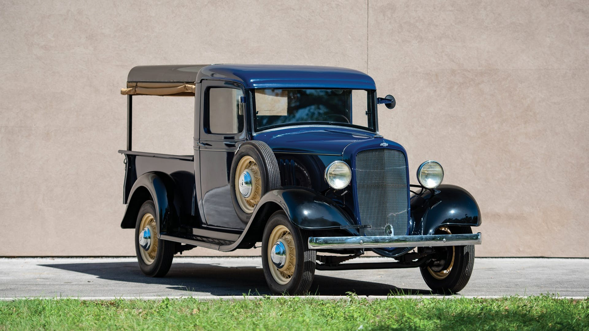1935 Chevrolet Series Eb Canopy Truck
