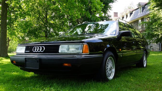 1991 Audi 200 Quattro Avant Turbo 5-Speed