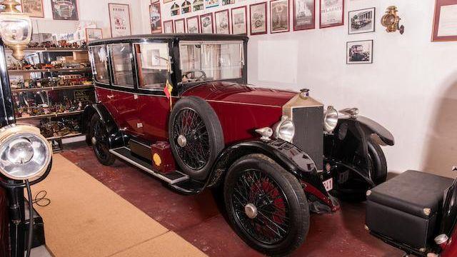 1921 Métallurgique  12/15 Hp Berline