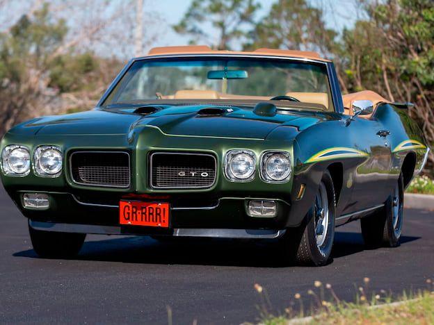 1970 Pontiac GTO Judge Convertible