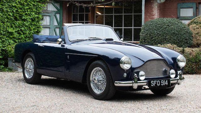 1957 Aston Martin Db Mark Iii Drophead Coupé Conversion Vin Am 300 3 1361 Classic Com