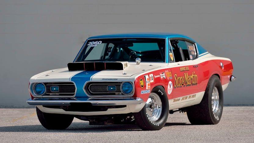 1968 Plymouth Barracuda B029 Sox & Martin Boycott