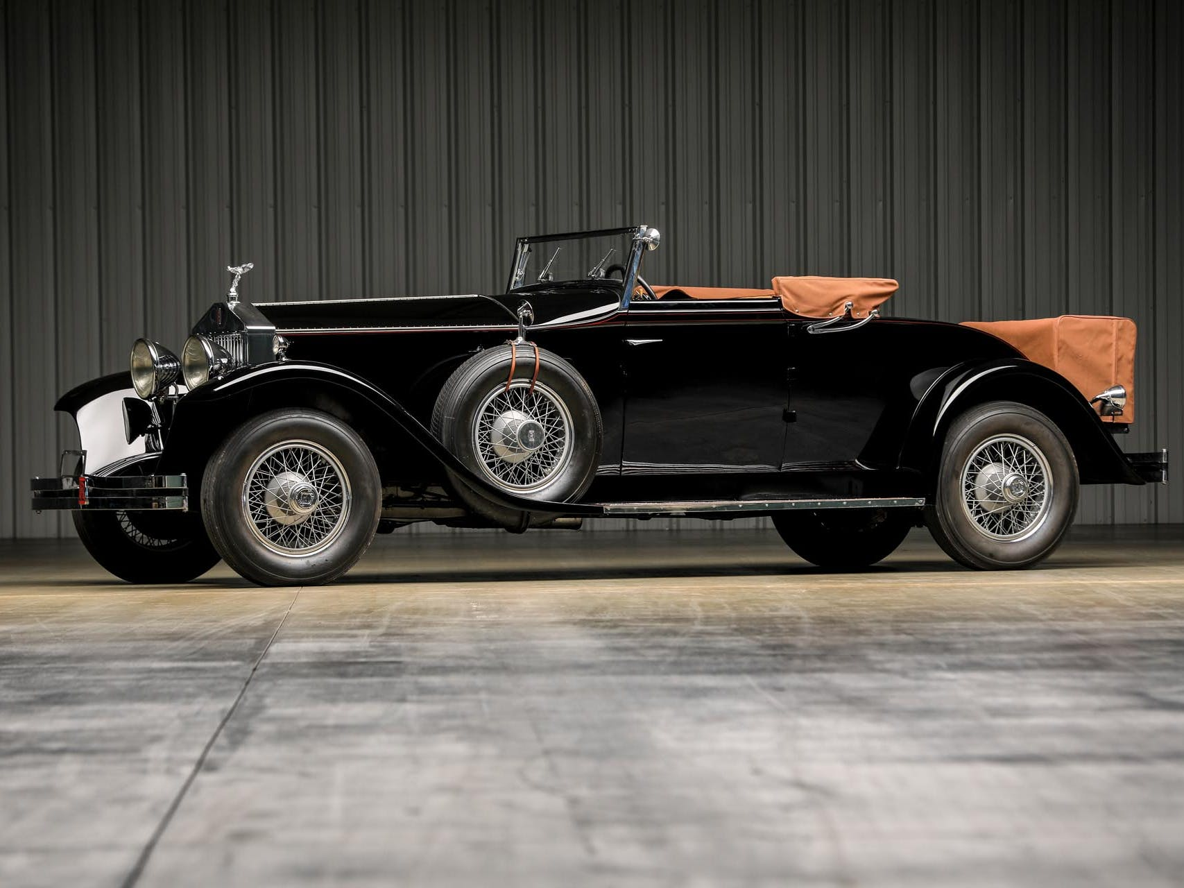 1927 Rolls-Royce Springfield Phantom I Brewster Regent Convertible Coupe