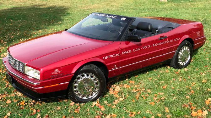 1993 Cadillac Allante Pace Car Edition