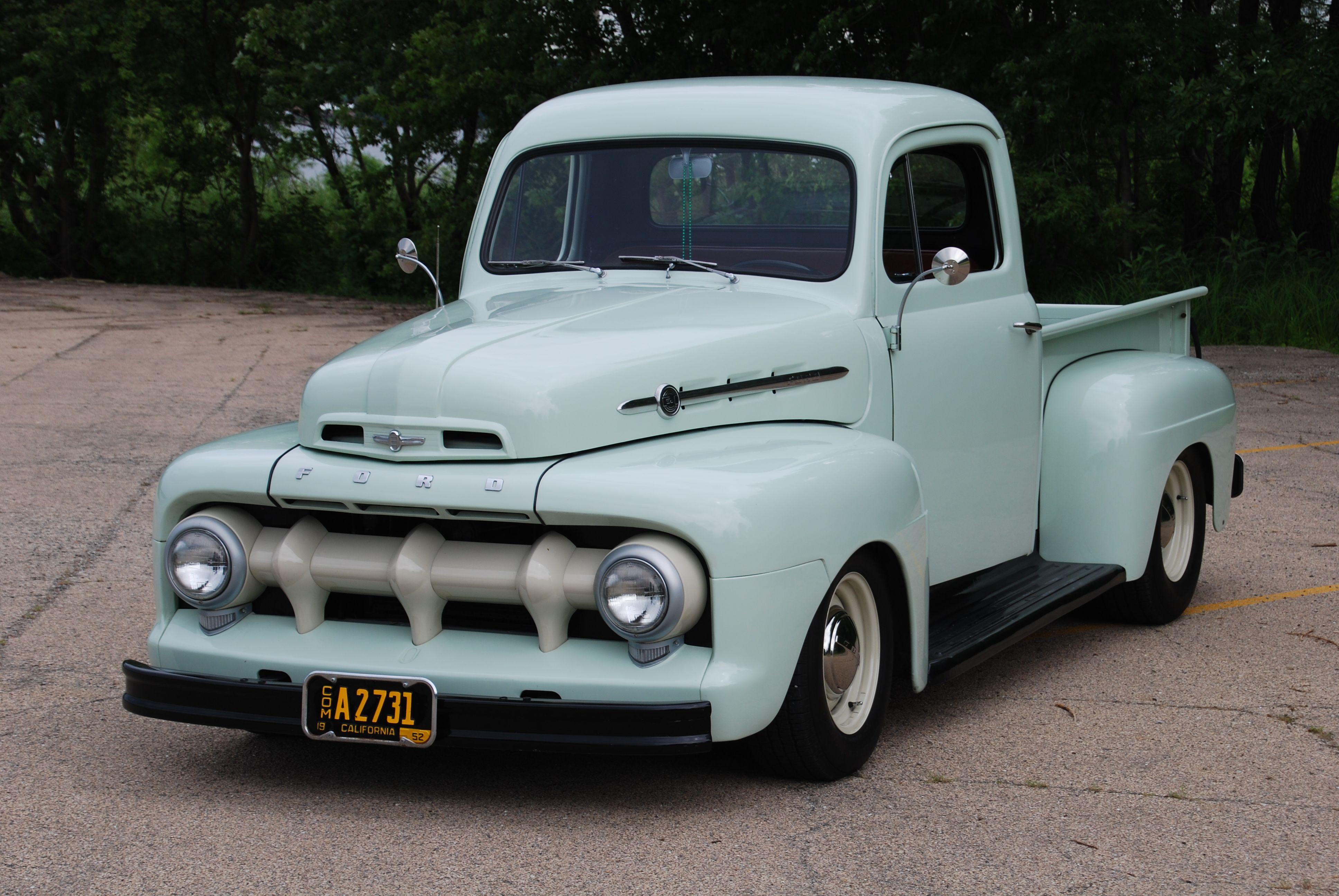 1952 Ford F100 Custom Pick Up Classic Com