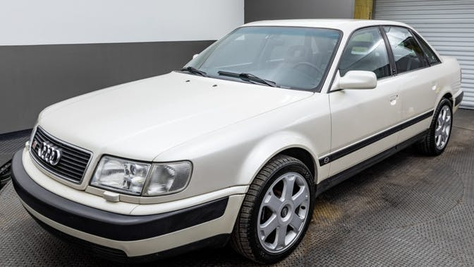 1992 Audi S4 5-Speed