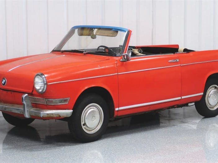 1963 BMW 700 Cabriolet Project