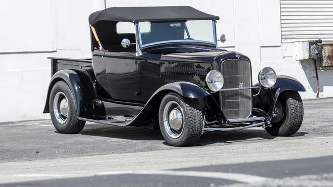 1931 Ford Model A Roadster Pick Up Hot Rod