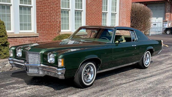 1971 Pontiac Grand Prix Model J
