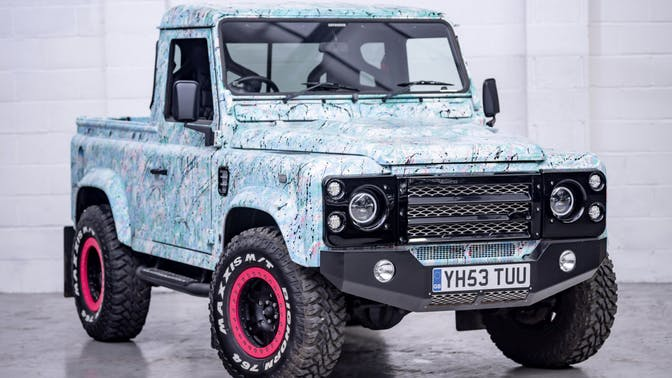 2003 Land Rover Defender 90 County Pick-Up