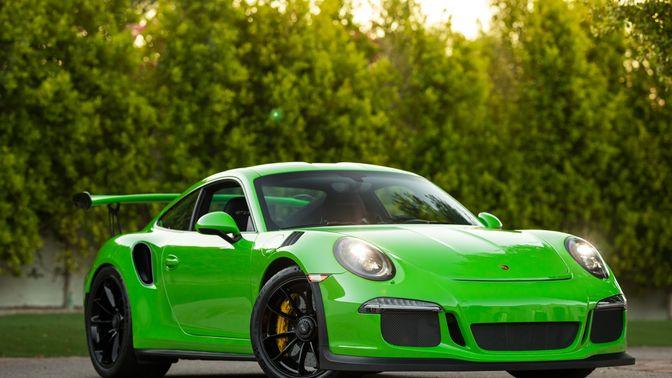 2016 Porsche 991 GT3 RS