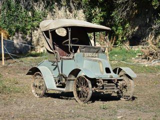 1902 De Dion Bouton Vis-à-Vis Type L Recarrossé en Cabriolet 2 Places