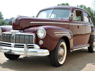 1946 Mercury Town Sedan With A Flathead V-8
