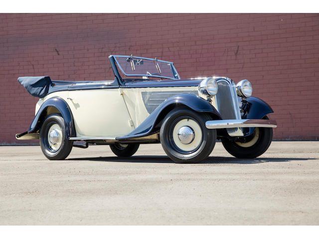 1936 BMW 319 Four-Window Cabriolet