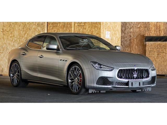 2015 Maserati Ghibli S Q4 Sports Saloon