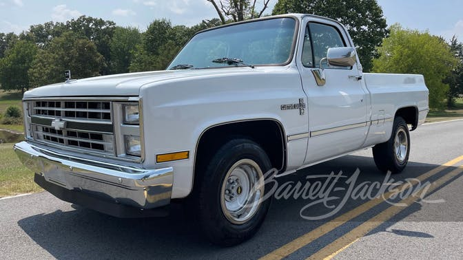 1985 Chevrolet C10 Custom Pickup