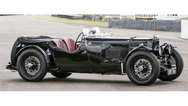 1935 Aston Martin Ulster 2 4 Seater Tourer Vin D5 570 U Classic Com