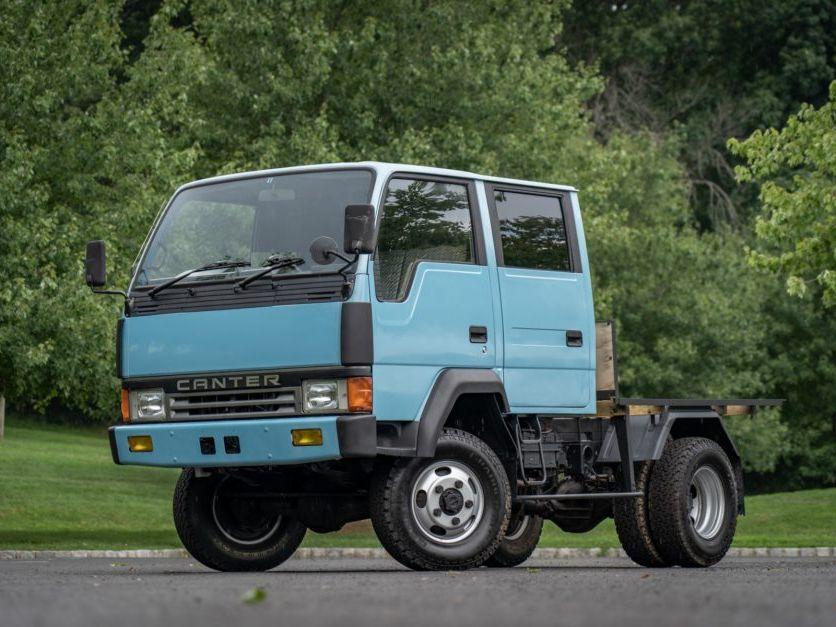 1991 Mitsubishi Fuso Canter Crew Cab 4WD