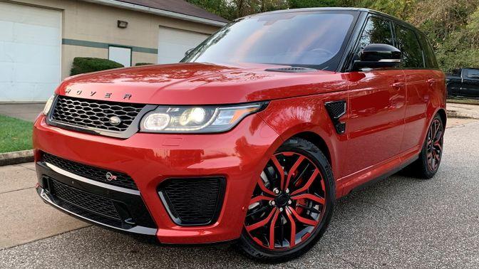 2016 Land Rover Range Rover Svr