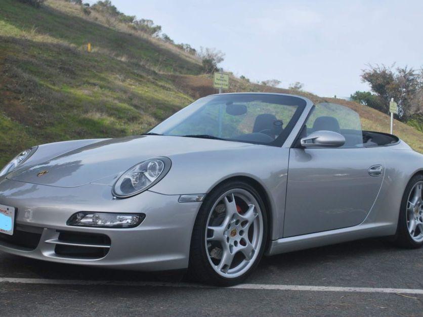 2007 Porsche 911 Carrera S Cabriolet 6-Speed