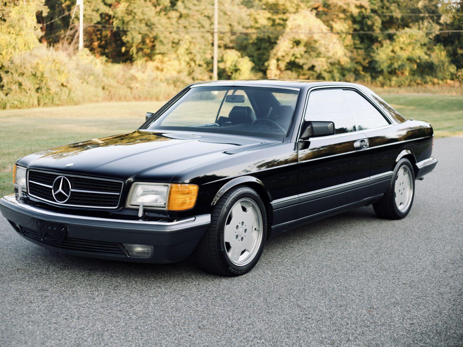 Mercedes Benz 560sec C126 Market Classic Com