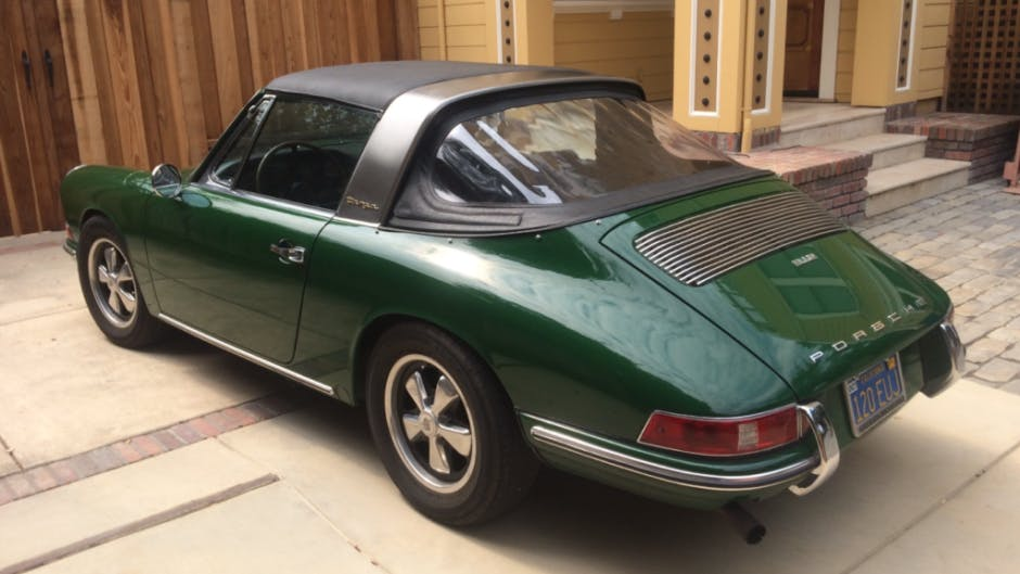 1968 Porsche 912 Soft-Window Targa