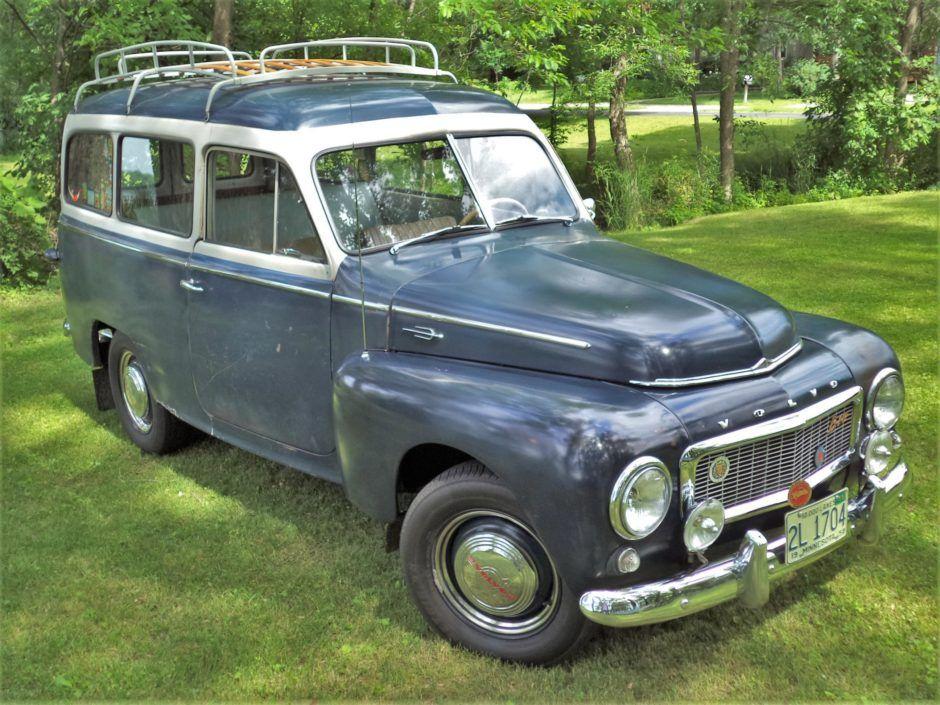 1958 Volvo PV445 4-Speed