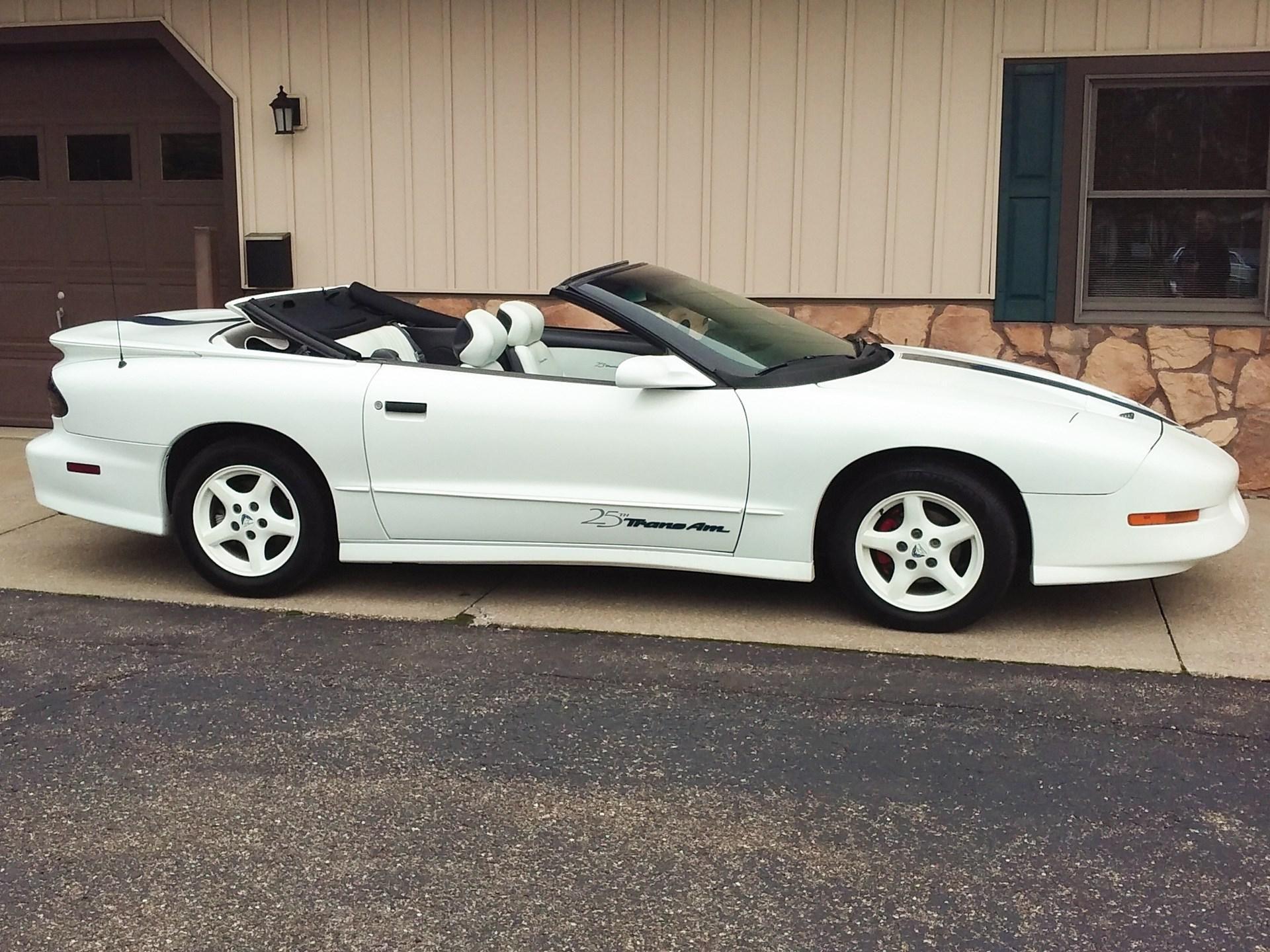 1994 Pontiac Firebird Trans Am Convertible