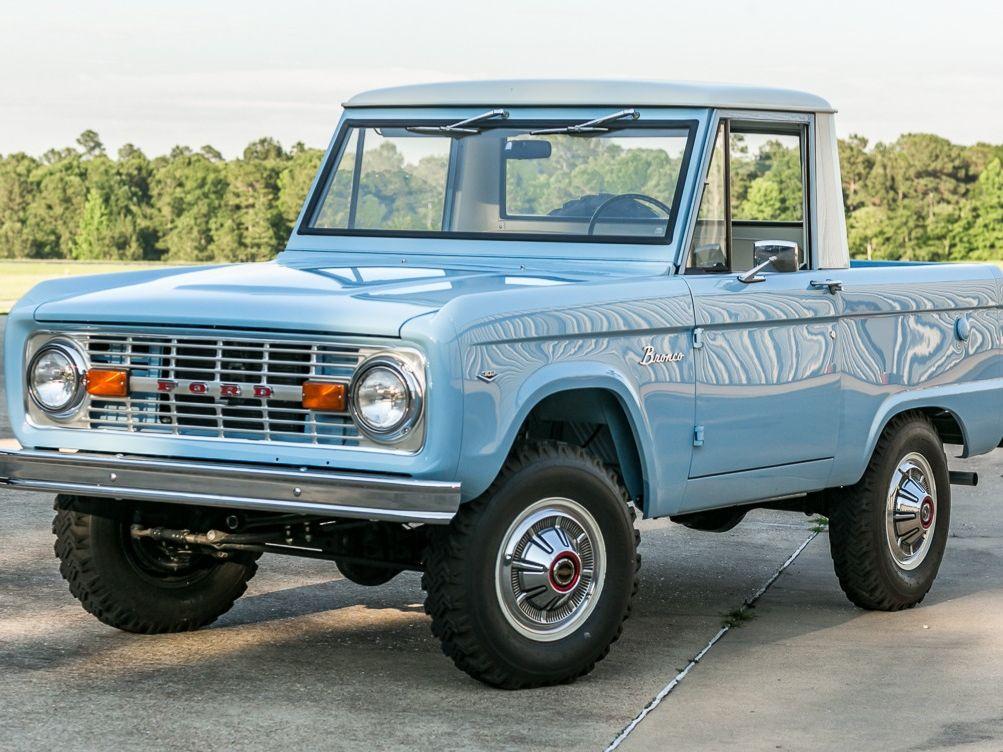 1969 Ford Bronco Half-Cab Pickup