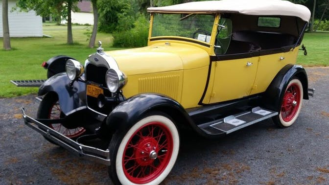 1929 Ford Model A Standard Phaeton