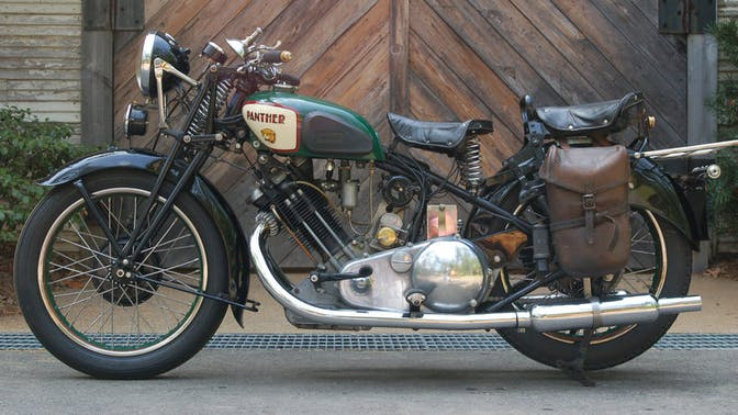 1937 Panther Model 100