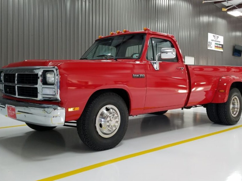 1993 Dodge Ram 3500 Turbodiesel Dually
