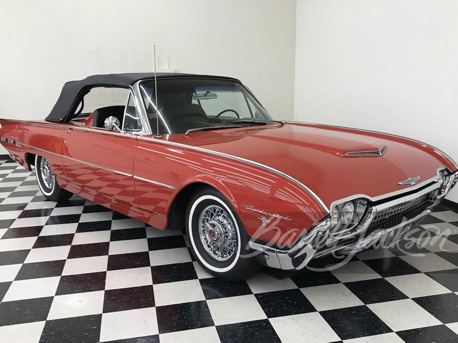 1962 Ford Thunderbird Sport Roadster