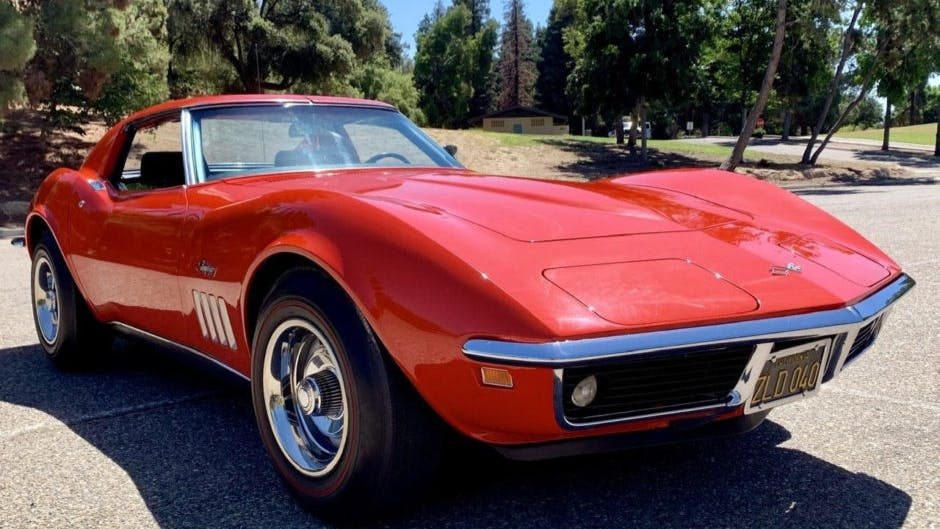 1969 Chevrolet Corvette L46 350 350hp Coupe 4 Speed Vin 194379s720944 Classic Com