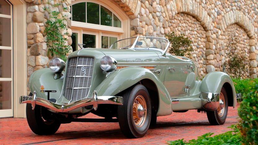 1936 Auburn 852 SC Boattail Speedster
