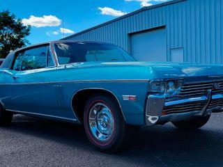 1968 Chevrolet Impala 427 Custom Coupe