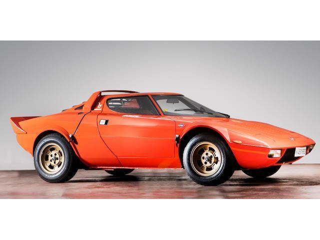1974 Lancia Stratos Hf Stradale Coupé