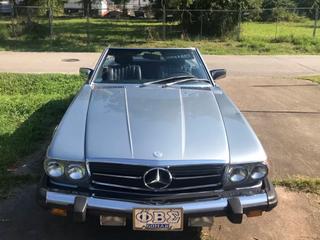 1984 Mercedes Benz 380SL - Convertible