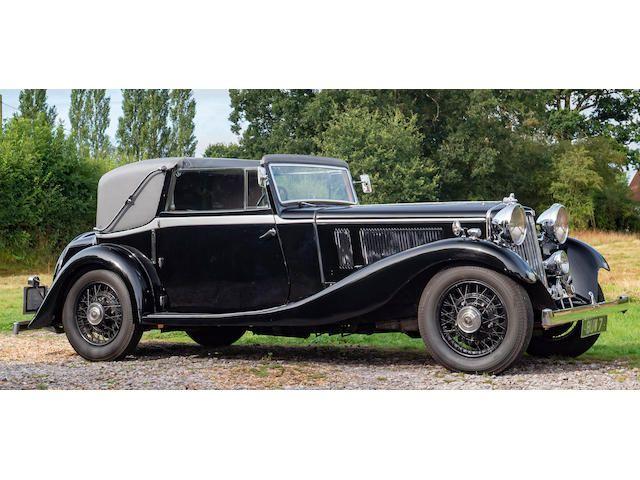 1934 Siddeley Special Sedanca Coupé