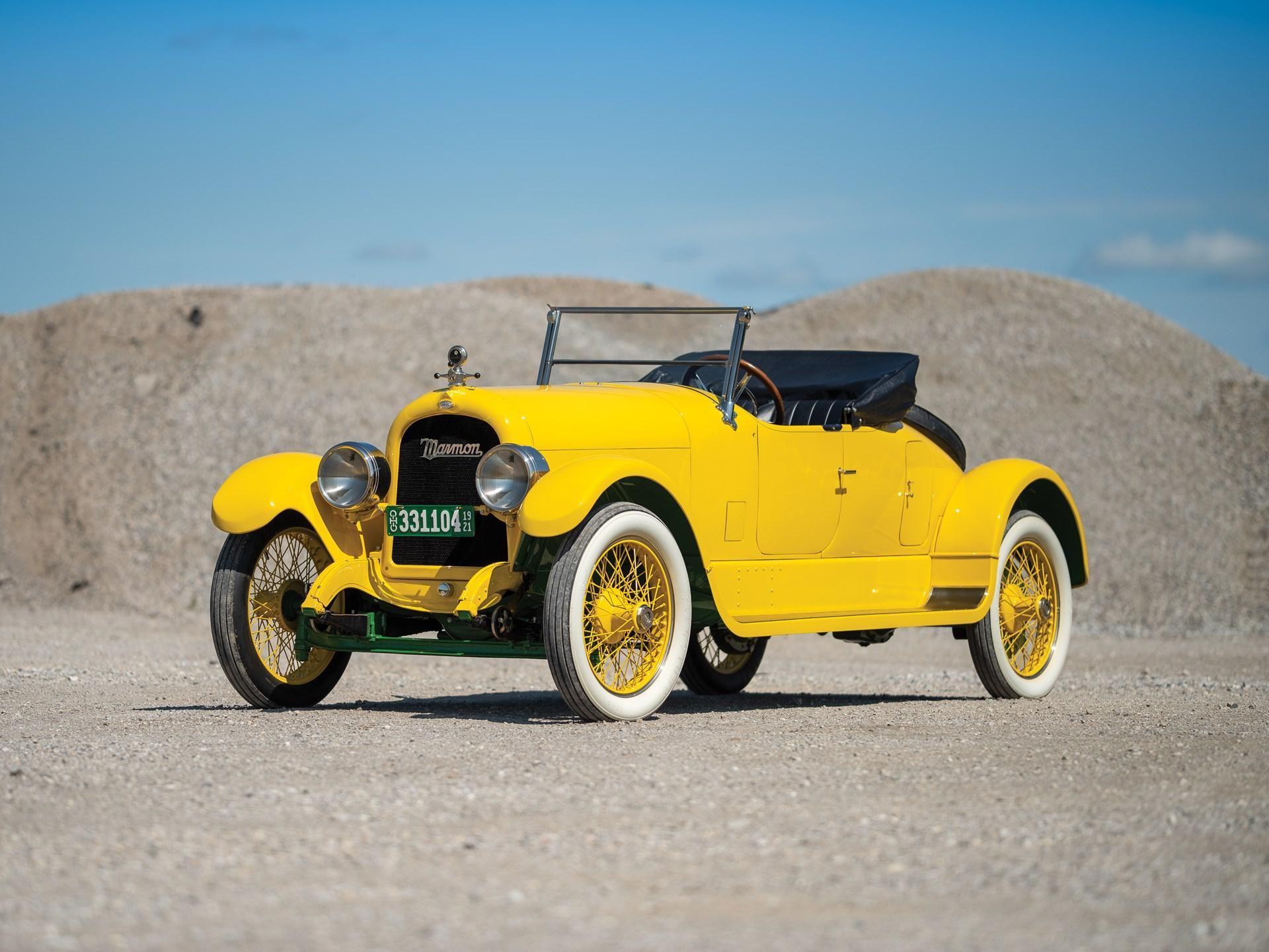 1921 Marmon Model 34B Two-Passenger Speedster
