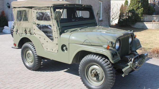 1970 Kaiser Jeep M38A1