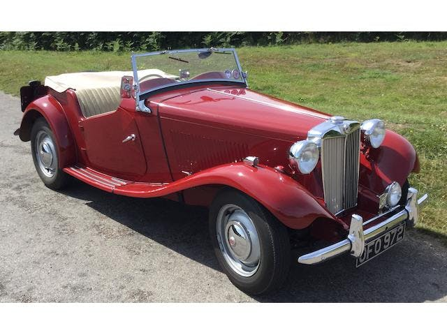 1950 MG TD Two-Seater