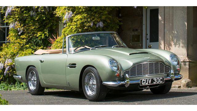 1965 Aston Martin Db5 Convertible Vin Db5 C 2119 R Classic Com