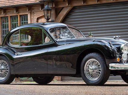 1955 Jaguar XK140 SE Coupé
